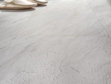 Vinylboden GreenLine Stone Fliese Carrara Marmor weiss