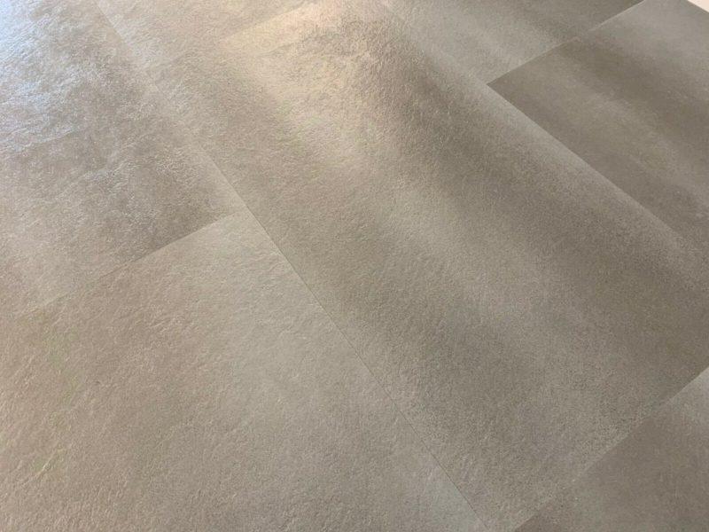 Vinylboden GreenLine Stone Fliesenoptik Concrete light