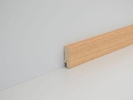 Repac ExPress Echtholz Eiche natur 58mm Sockelleiste
