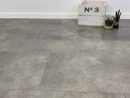 VinyRock Fliese Silent Stone Mayon Granit grau