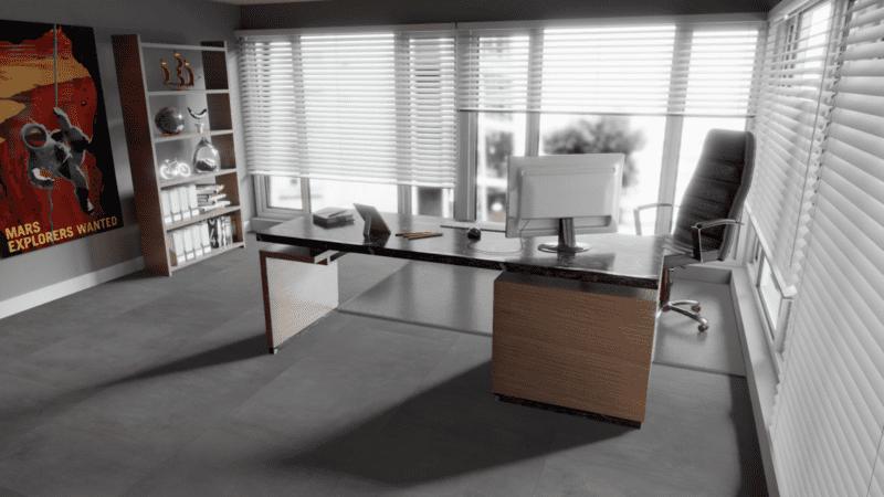 Falquon Q1011 MAX Fliese XL Beton grau Supermatt Laminat