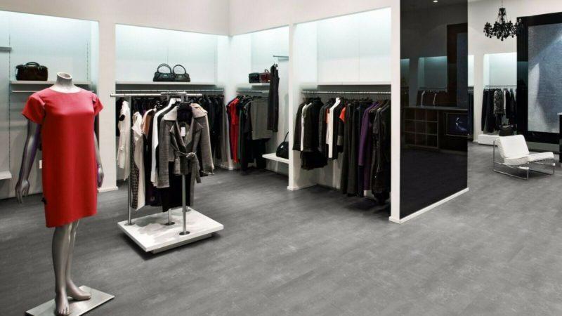 Tarkett Starfloor 30 Fliese Composite grey Zement Vinylboden