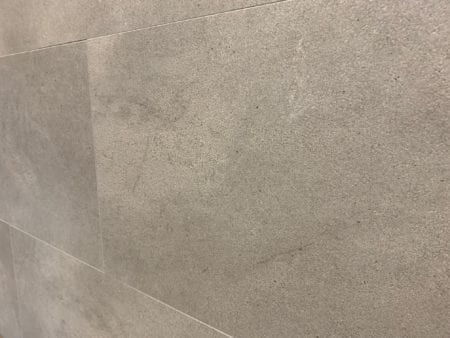Wandfliesen Design Wall aus Vinyl Betonoptik Off grey