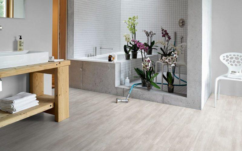 Eiche Nordic grau Landhausdiele Designboden