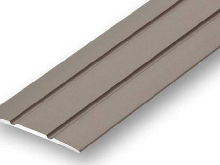 selbstklebend Edelstahl-Design 100cm