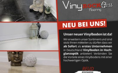 VinyRockGloss – Vinylboden in Hochglanzoptik
